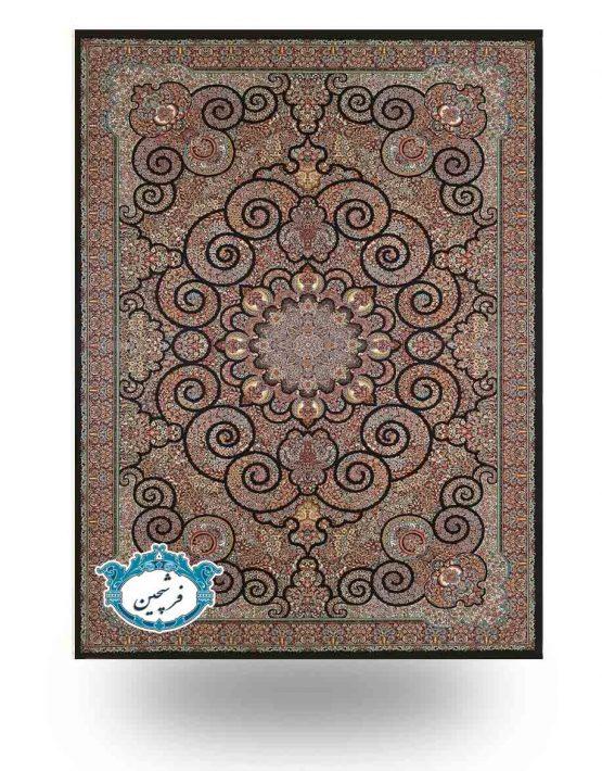 فرش ماشینی -طرح میترا 700 شانه          سرمه ای